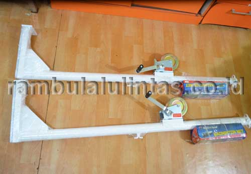 Tiang Badminton Portable (Knockdown)
